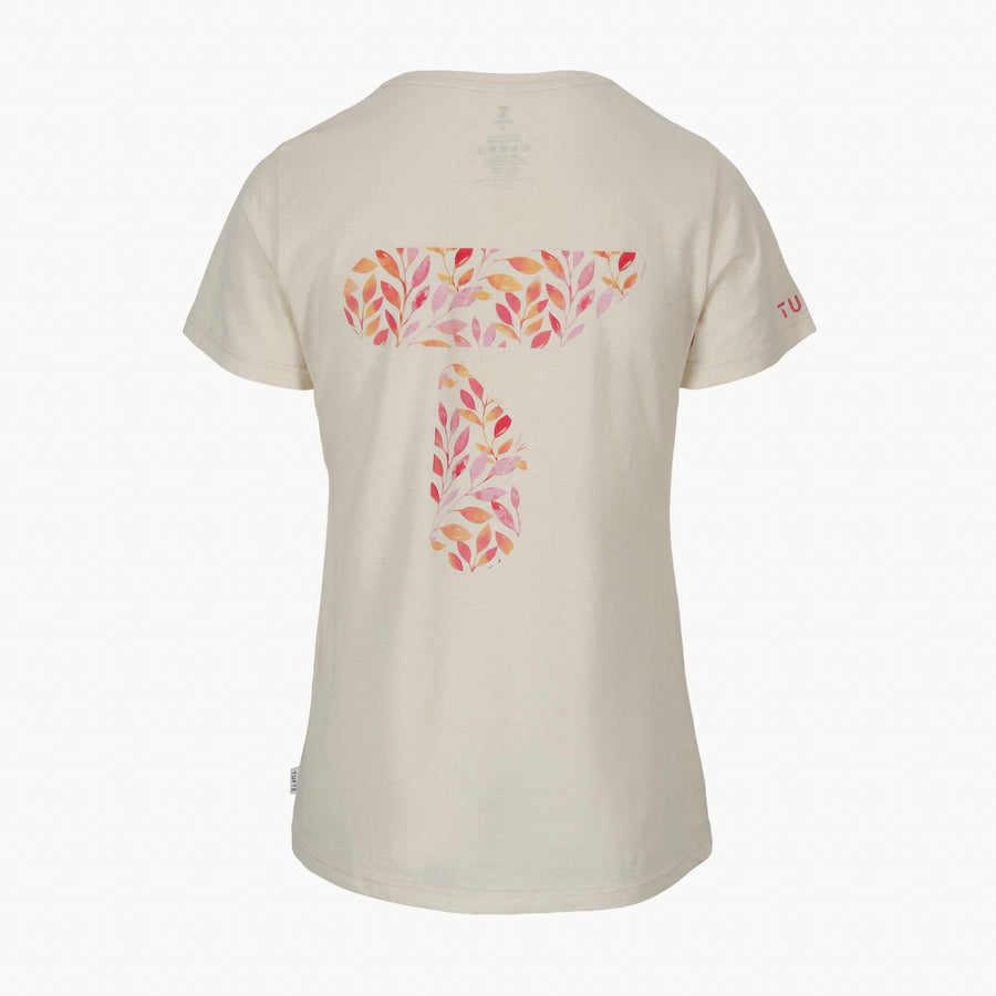 Women's Eco Tee - Flower