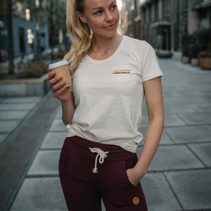 Women's Eco T-shirt - Rainbow