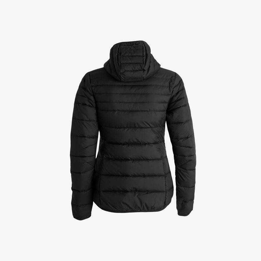 WomensDownHoodedJacket-Black-Back (4422141673603)
