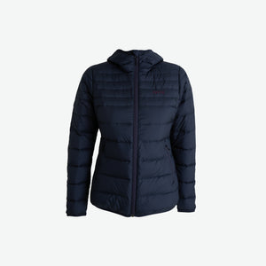 WomensDownHoodedJacket-SkyCaptain-Front (4422141673603)