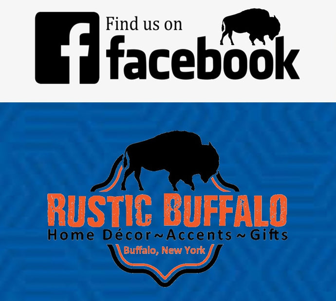 Find Rustic Buffalo Home Decor and Accents now on Facebook!
