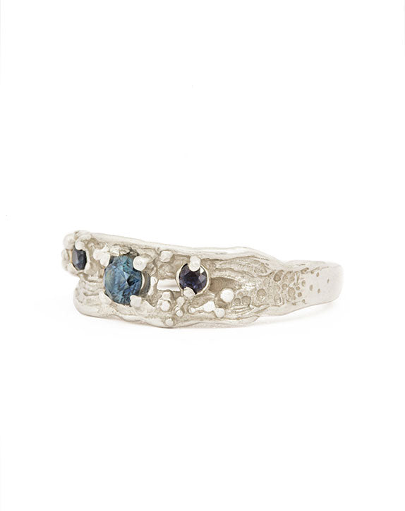 ZAFIRO RING BLUE