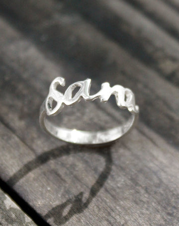 My Name Ring