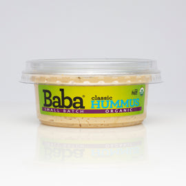 Baba Small Batch Organic Classic Hummus Front