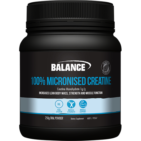 Balance 100% Micronised Creatine