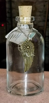 Steampunk Wing Reed Diffuser Bottle