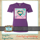 """PARTY CHIC'S"" BOYFRIEND COTTON T-SHIRT"