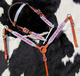"""PONY SIZE"" I LOVE MY PONY GLITTER BRIDLE SET"