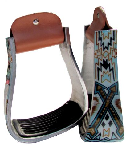 ARROW PRINT STIRRUPS
