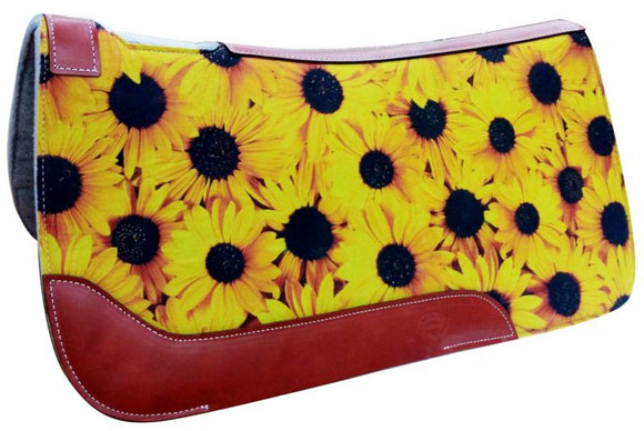 SUNFLOWER SOLID FELT SADDLE PAD