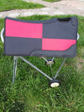 "24"" PONY SIZE ONE OF A KIND FELT BOTTOM SADDLE PAD"