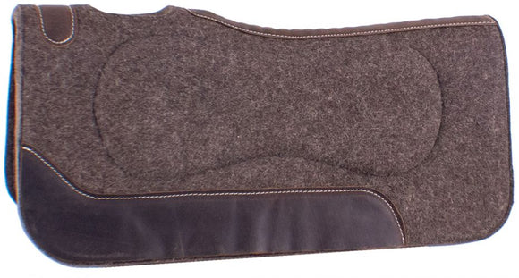 100% MOHAIR BUILT UP SHOCK ABSORB SADDLE PAD