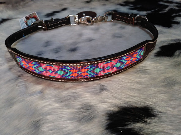 HAND BEADED TRIBAL WITHER STRAP