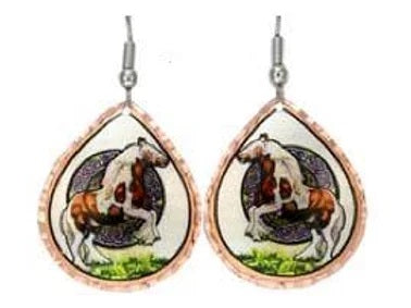 GYPSY HORSE EARRINGS by US ARTIST LYNN BEAN