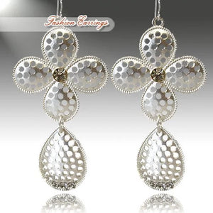 COWGIRL CROSS EARRINGS WITH CRYSTALS