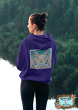 Bohemian Rhapsody Zip Up Front Pocket Hoodies
