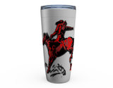 20 oz GOOD BUCK'N MORNING! HOT OR COLD STAINLESS STEEL TRAVEL TUMBLER