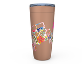 "20 oz ""JEEPSY COUNTRY GIRL"" HOT OR COLD STAINLESS STEEL TUMBLER"