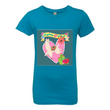 LLAMA LOVER PRINCESS GIRLS T SHIRT
