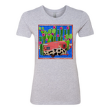 """CACTUS PARADISE"" BOYFRIEND COTTON T-SHIRT"