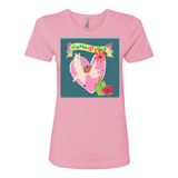 LLAMA LOVE BOYFRIEND COTTON T SHIRT