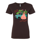 """BE THE FLOWER AMONGST PRICK'S"" BOYFRIEND COTTON T-SHIRT"