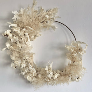 Dried White Oak Wreath