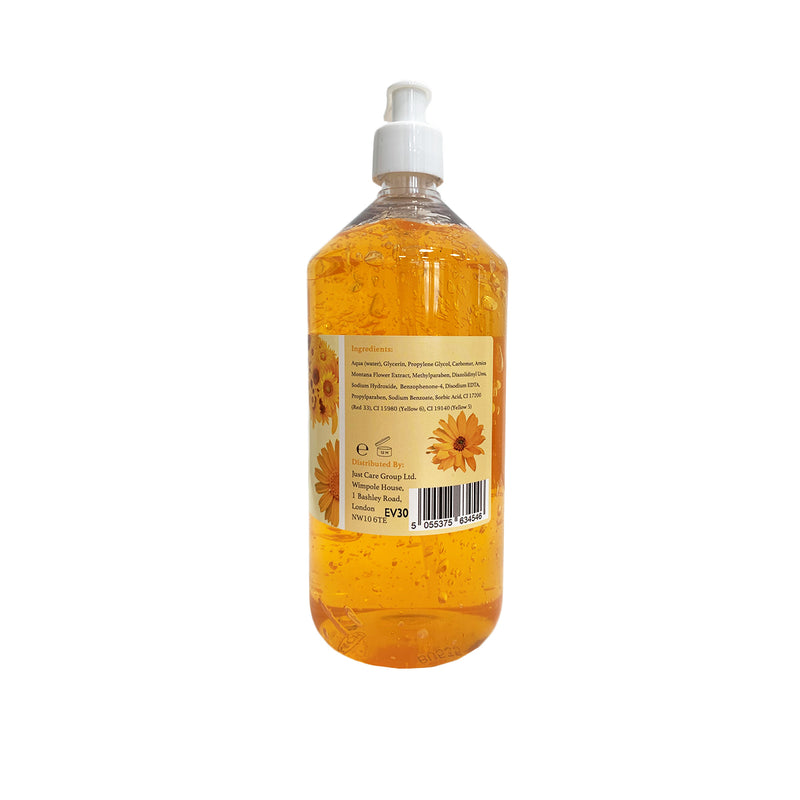 Justlife Arnica Gel 1Litre, Case of 12