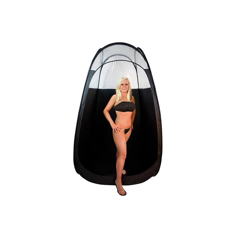 Black Tanning Tent with Carry Case, Case of 4