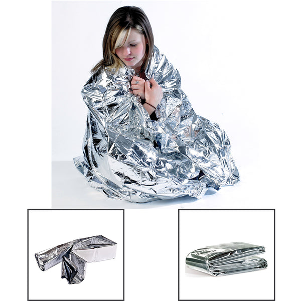 Disposable Foil Blanket, Case of 200