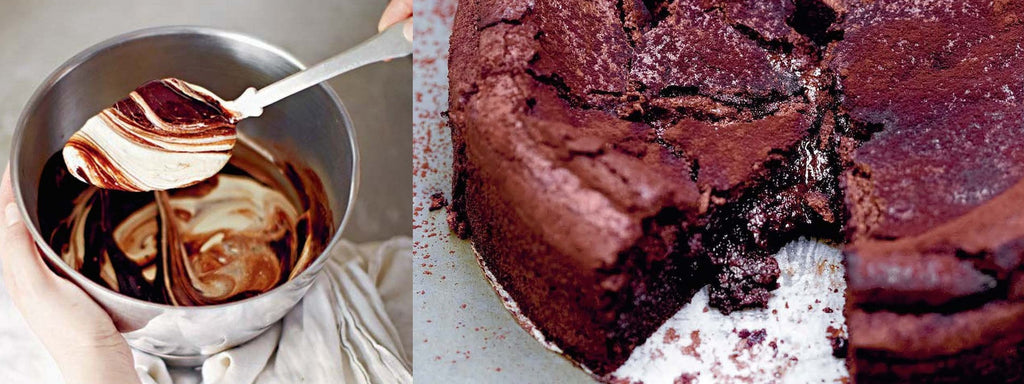 Claire Ptak Violet Bakery Sunken Chocolate Souffle Cake