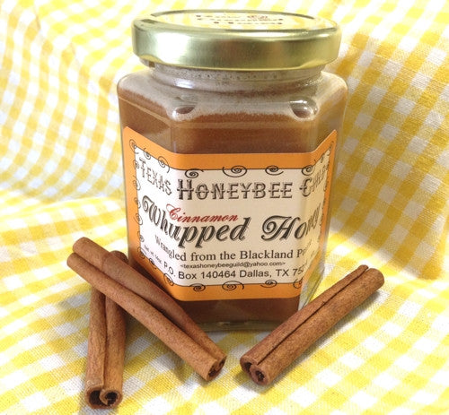 LOCALLY GROWN & CRAFTED — Cinnamon Whupped Honey - Texas Honeybee Guild