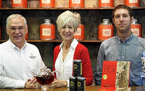 Bruce, Shelley and Ben Richardson, owners of Elmwood Inn Fine Teas