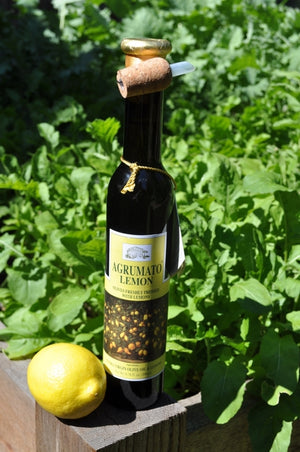 AGRUMATO LEMON - EXTRA VIRGIN OLIVE OIL PRESSED WITH LEMONS — FROM THE ABRUZZO REGION OF ITALY