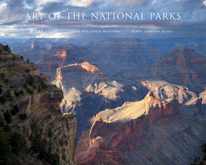 GRAND CANYON COVER ART — Art of the National Parks: Historic Connections, Contemporary Interpretations — BY Jean Stern, Susan Hallsten McGarry, Terry Lawson Dunn