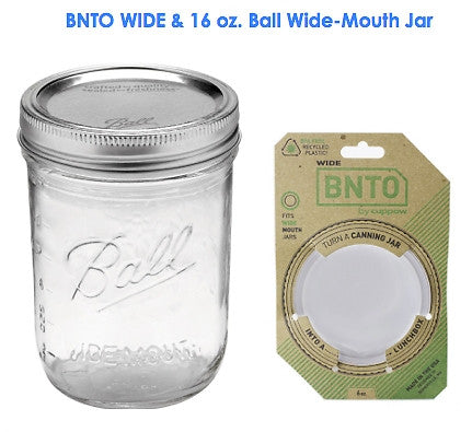 BNTO WIDE Lunchbox / Snack Box Kit — 16 oz. or 24 oz. Tallboy