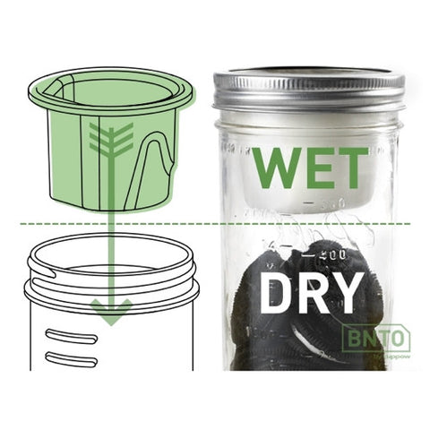 Cuppow BNTO Canning Jar Lunchbox Adaptor
