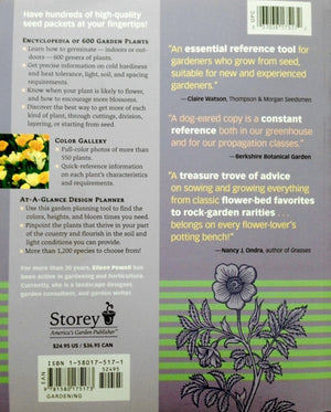 Gardeners A-Z-Guide to Growing Flowers Seed to Bloom