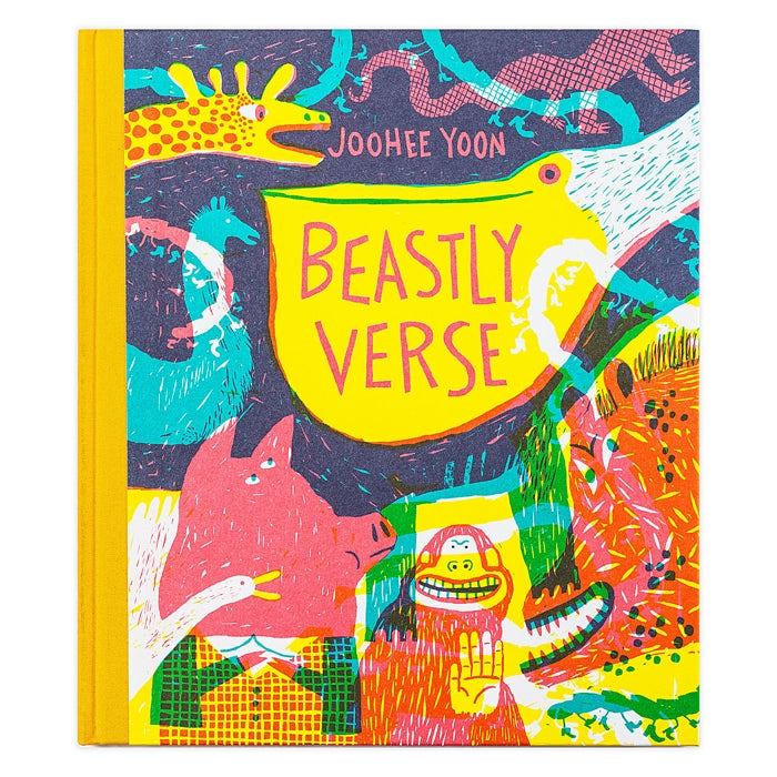 Beastly Verse — Poems Illustrated by JooHee Yoon  — From Enchanted Lion Books