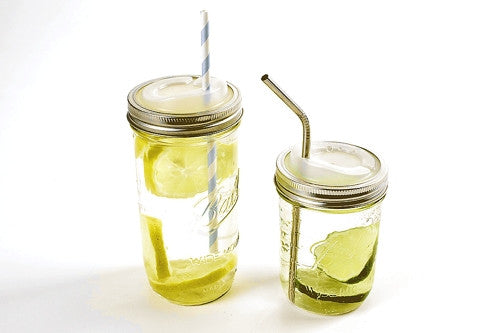 GONNA LOVE THIS! — Canning Jar Drinking Lid by Cuppow - Wide Mouth