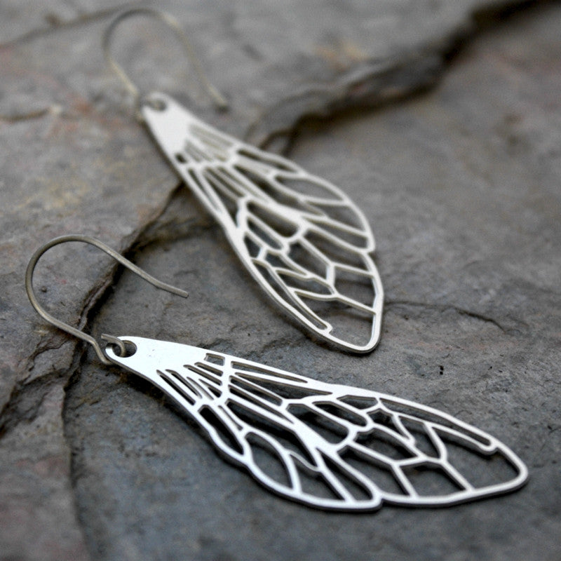 Delicate Wing Earrings Audra Azoury
