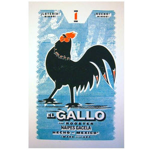 El Gallo (The Rooster) Original Art Print