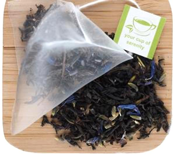 Elmwood Inn Fine Teas EARL GREY LAVENDER TEA - 15 PLANT-BASED PYRAMID SACHETS