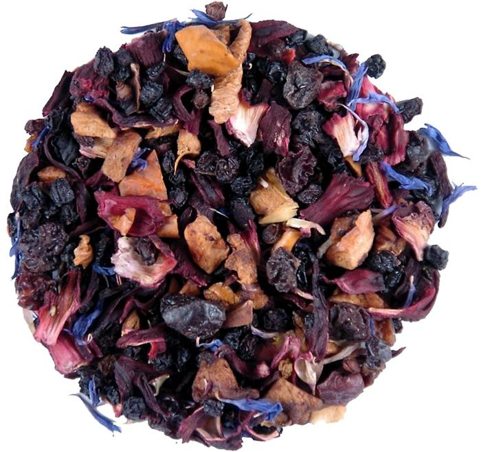 Elmwood Inn Fine Tea BLUEBERRY CAFFEINE-FREE INFUSION LOOSE TEA - 3.5 OZ. TIN Blueberry Tea Best Blueberry Tea