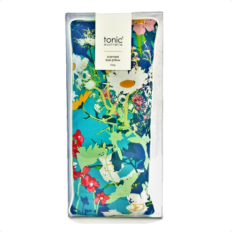 Eye Pillow Filled With Australian Lavender and Flaxseed in Dusk Meadow — By Tonic Australia