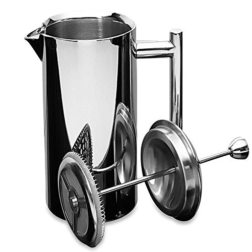 DOUBLE WALL, STAINLESS STEEL FRENCH PRESS - Mirror Finish - 36-ounces — BY FRIELING
