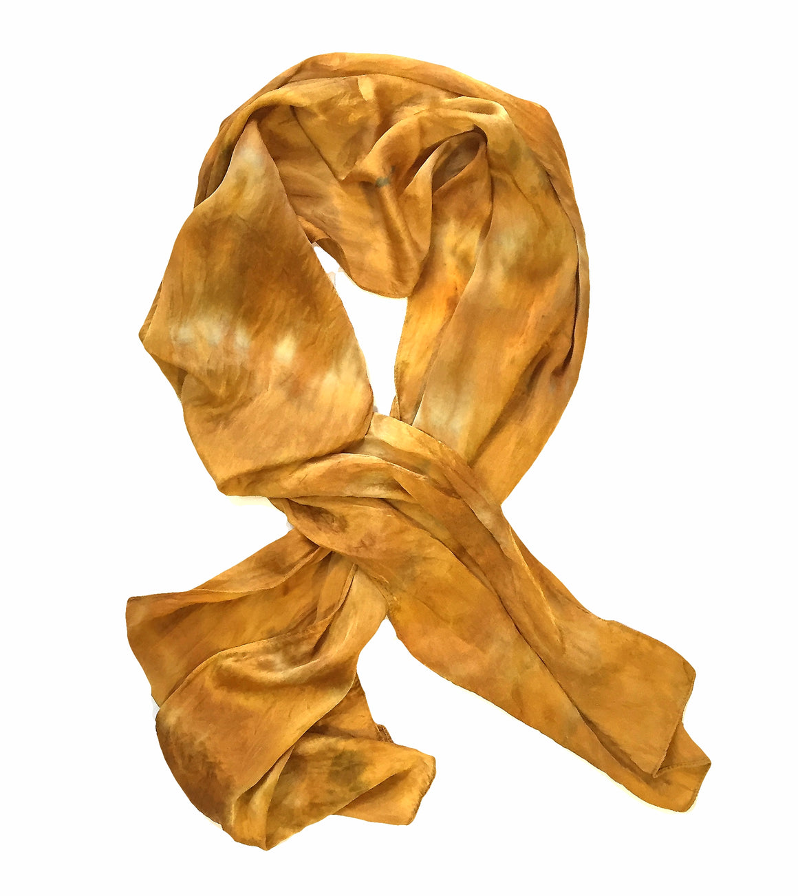 Golden River Silk Scarf — HANDCRAFTED BY GOFORTH DESIGNS