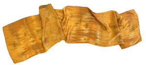 River of Gold Silk Satin Scarf — HANDCRAFTED BY JULE GOFORTH