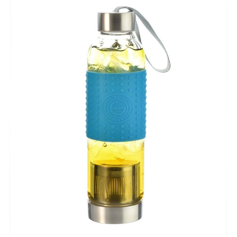 Water, Tea and Coffee Marino Travel Infuser in Blue - 18.6 ounces — By GROSCHE