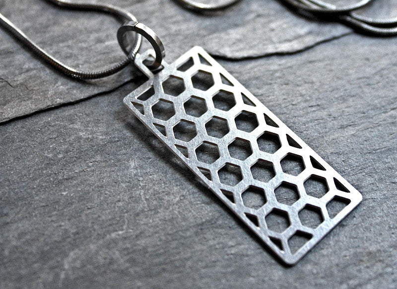 Honeycomb Necklace Audra Azoury